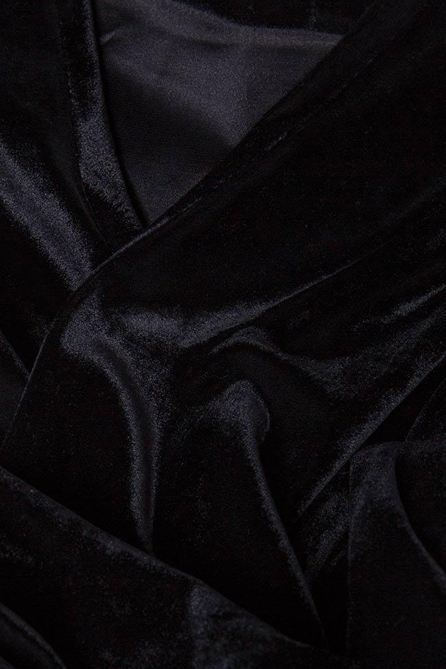 Cardigan din catifea din amestec de bumbac KYLIE Shakara imagine 3