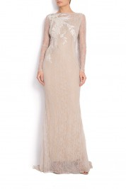 Simona Semen Manually embroidered lace dress NARA