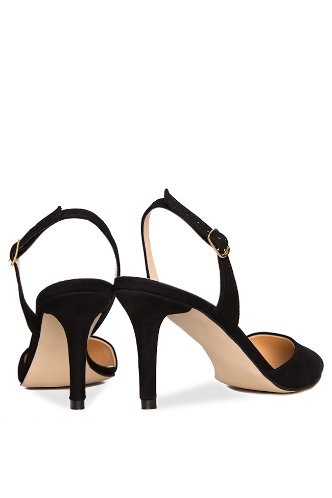 Suede leather sandals Hannami image 2