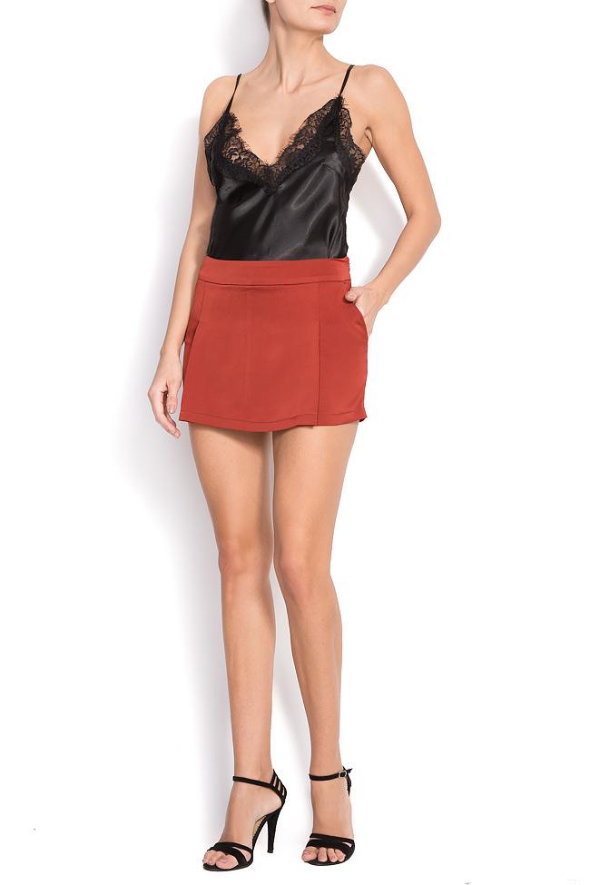 Pantaloni scurti din satin BONNIE Shakara imagine 0