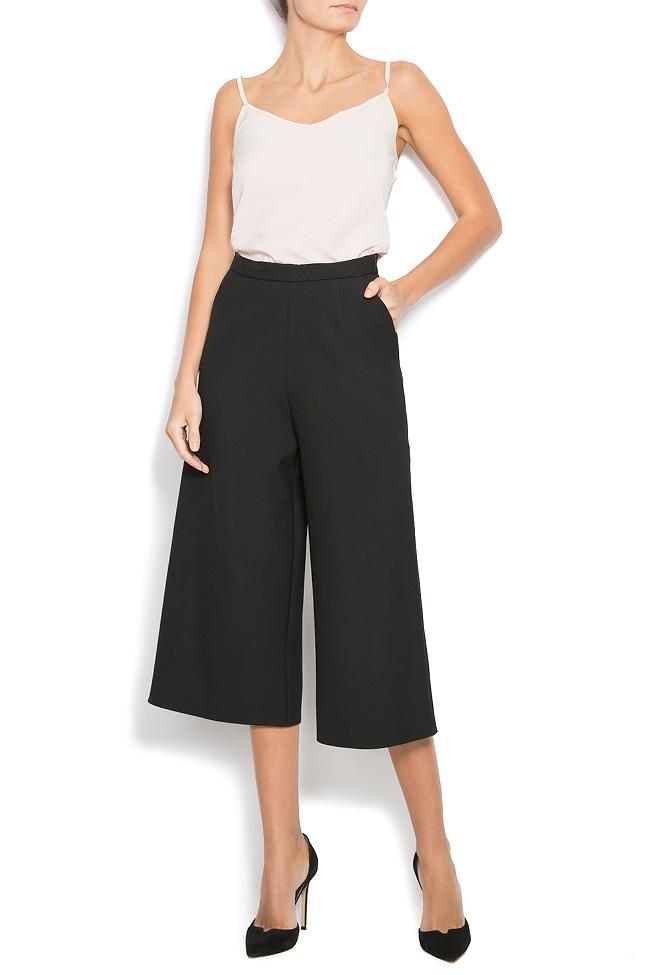 Pantaloni din crep cu buzunare INGRID Pulse imagine 0