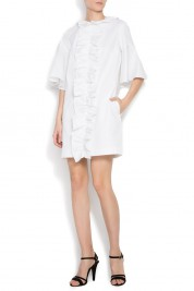 Framboise Ruffy cotton mini dress