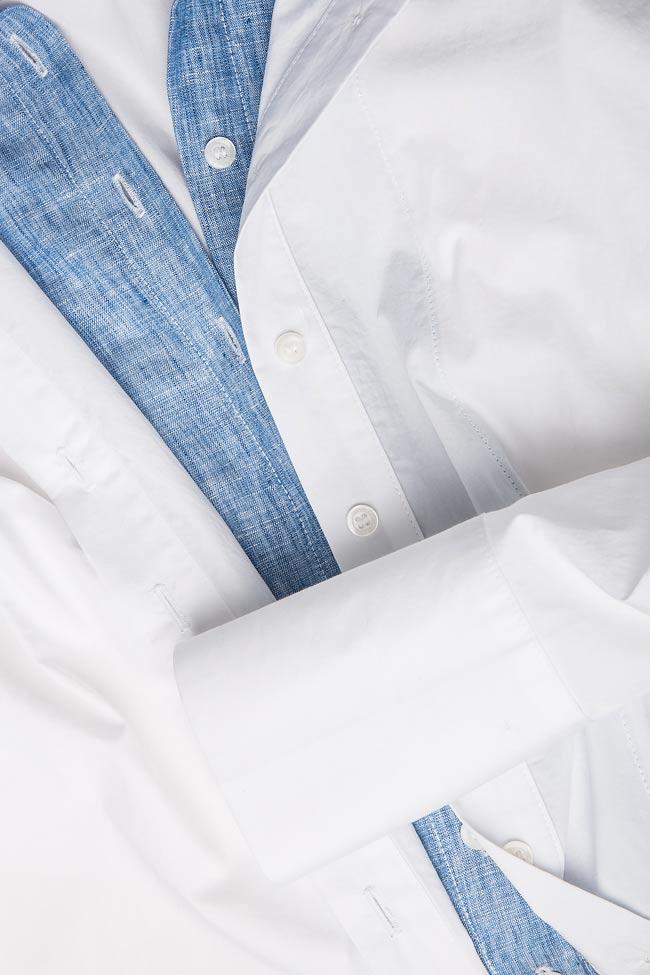 Jet cotton-poplin shirt  Framboise image 3