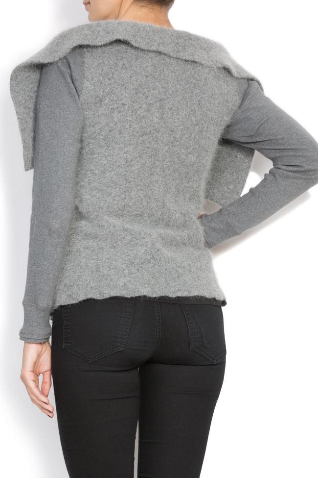 Angora-blend wool cardigan Arona Carelli image 2