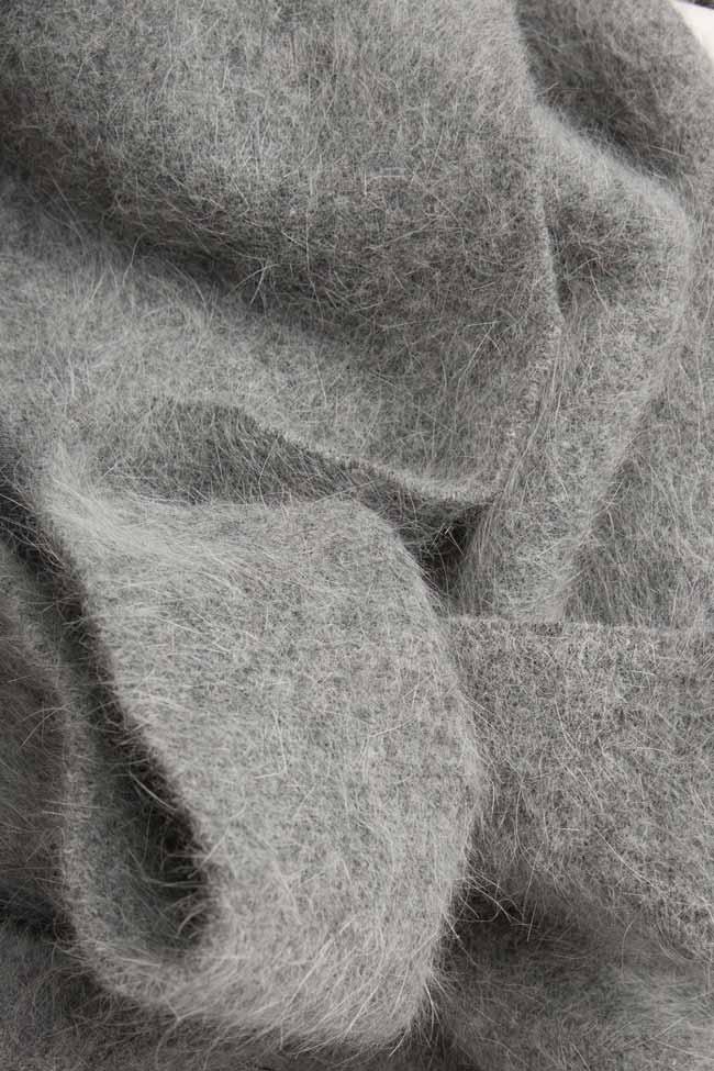 Angora-blend wool cardigan Arona Carelli image 3