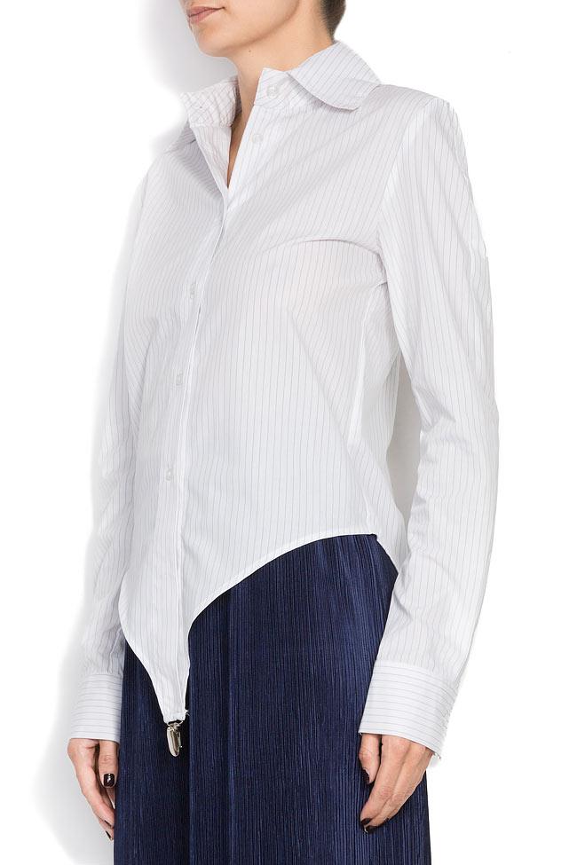 Body type cotton shirt Cloche image 1