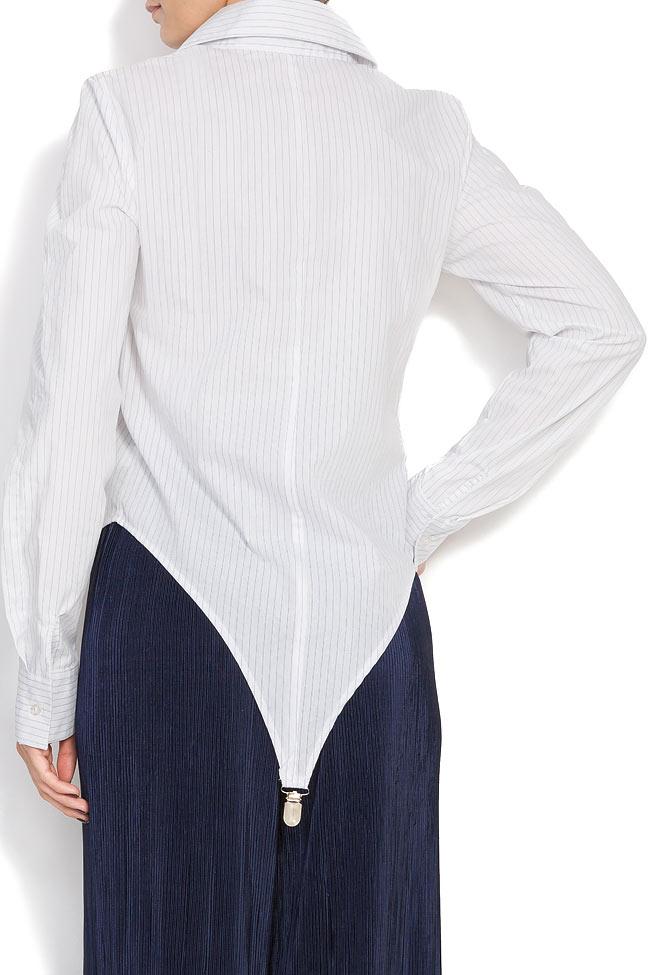 Body type cotton shirt Cloche image 2