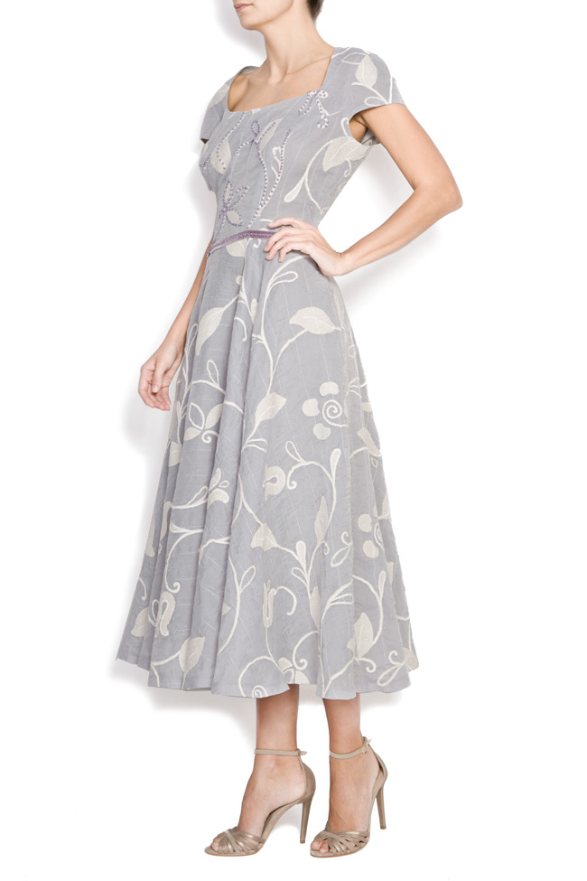 Printed cotton dress Azzara by Mirela Pellegrini image 1