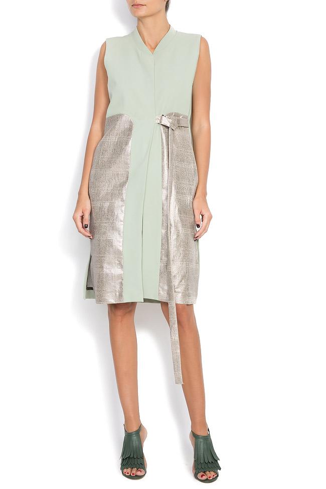 Vesta tip rochie din amestec de bumbac Larisa Dragna imagine 0