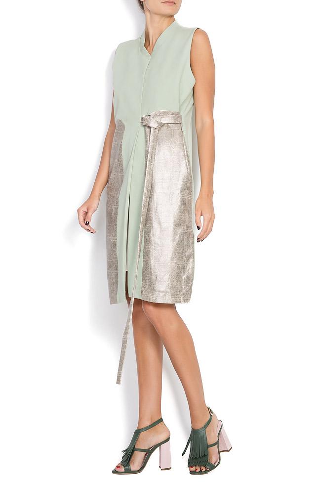 Vesta tip rochie din amestec de bumbac Larisa Dragna imagine 1