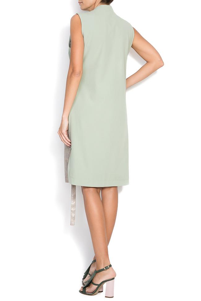 Vesta tip rochie din amestec de bumbac Larisa Dragna imagine 2