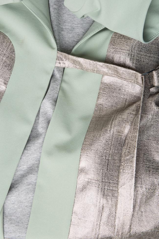 Vesta tip rochie din amestec de bumbac Larisa Dragna imagine 3