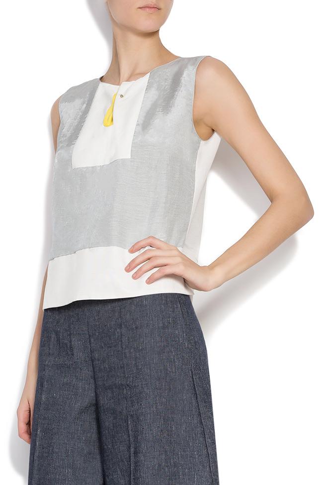 Bluza din bumbac Lena Criveanu imagine 1