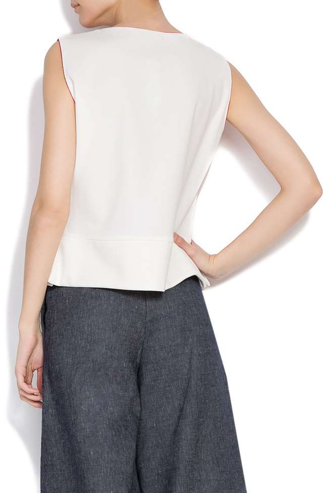 Bluza din bumbac Lena Criveanu imagine 2