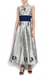 Alexandru Raicu Silk shantung dress
