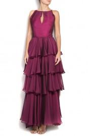 Alexandra Ghiorghie Maxi chiffon gown