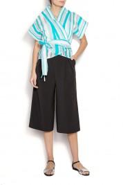 Edita Lupea Bluza tip kimono din amestec de bumbac