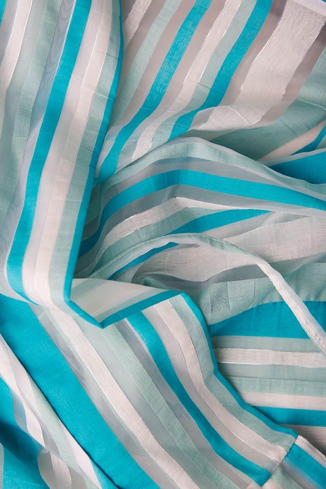 Cotton blend culottes pants Edita Lupea image 3