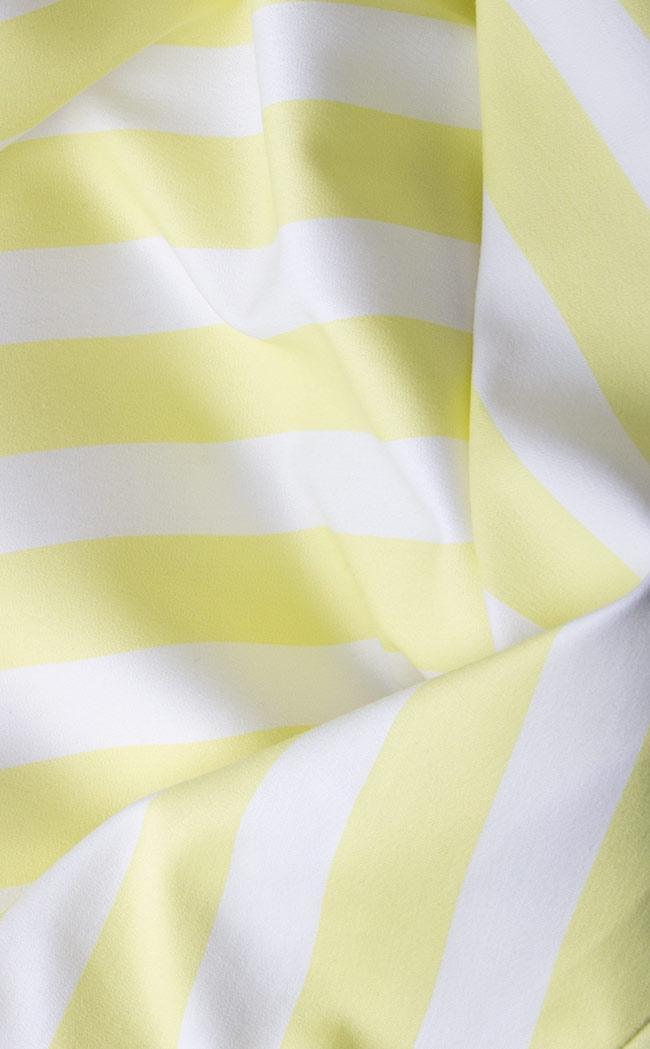 Rochie bicolora din bumbac Claudia Castrase imagine 3