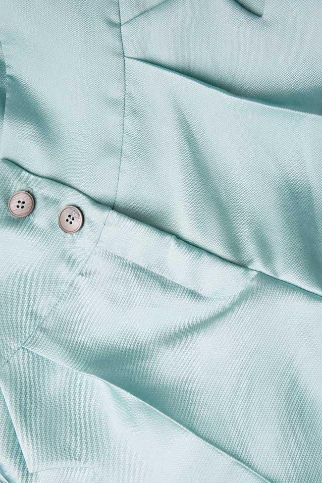 Pantaloni din amestec de bumbac si matase Toscana Florentina Giol imagine 3