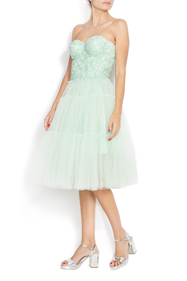 Sequin embellished tulle dress BETTY M Marquise image 1