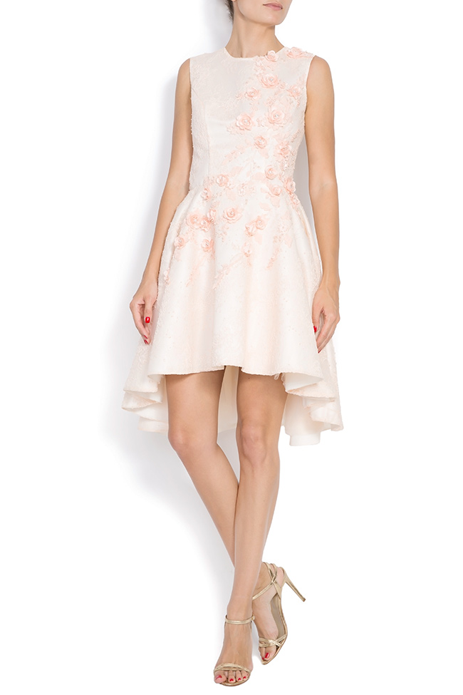 Crepe mini dress FLORA M Marquise image 0