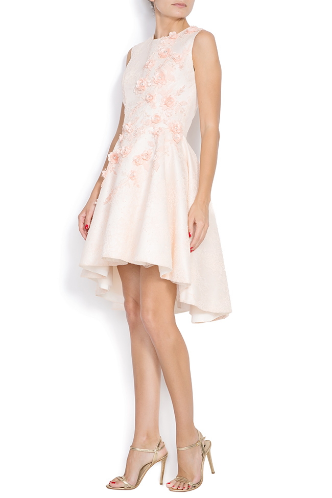 Crepe mini dress FLORA M Marquise image 1