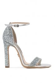 Mihai Albu Glittered leather sandals