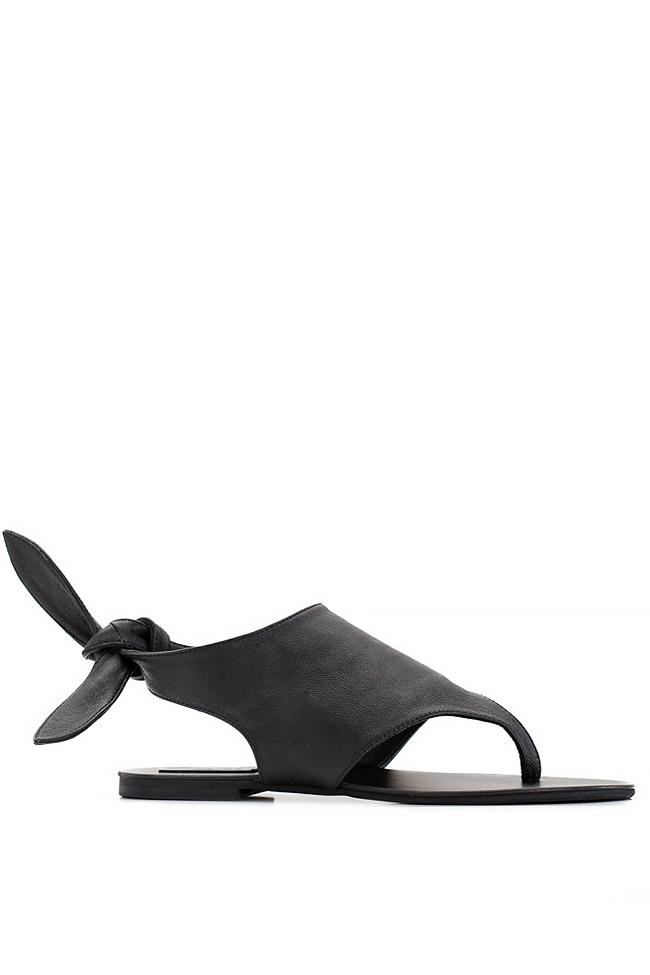 Sandale din piele Mihaela Gheorghe imagine 0