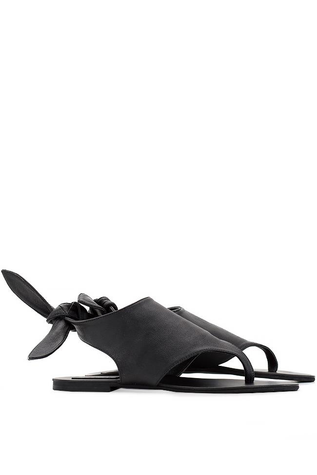 Sandale din piele Mihaela Gheorghe imagine 1
