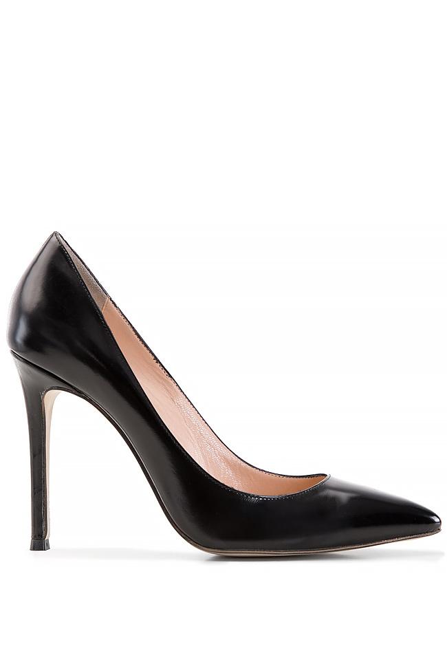 Pantofi tip stiletto din piele Alina Petcan imagine 0