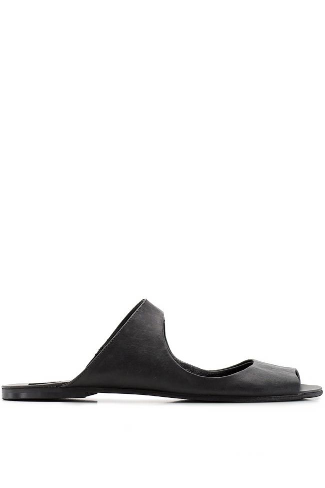 Papuci din piele Mihaela Gheorghe imagine 0
