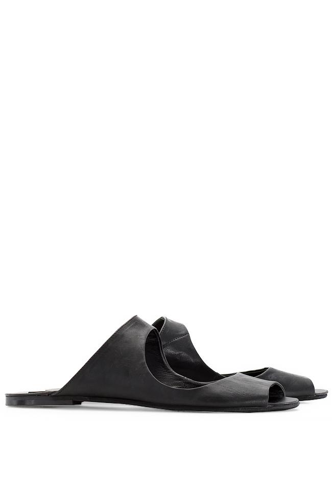 Papuci din piele Mihaela Gheorghe imagine 1