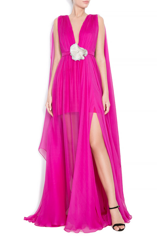 Flower Bomb silk gown Manuri image 0