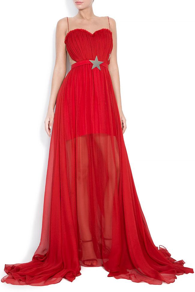 She's Love silk gown Manuri image 0