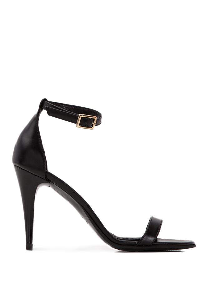Sandale din piele naturala Verogia imagine 0
