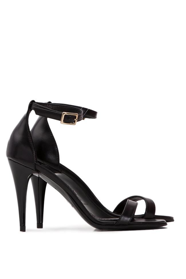 Sandale din piele naturala Verogia imagine 1