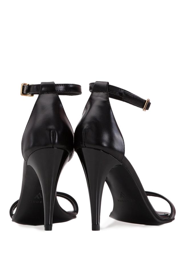 Sandale din piele naturala Verogia imagine 2