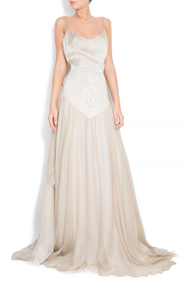 Bella silk gown Manuri image 0