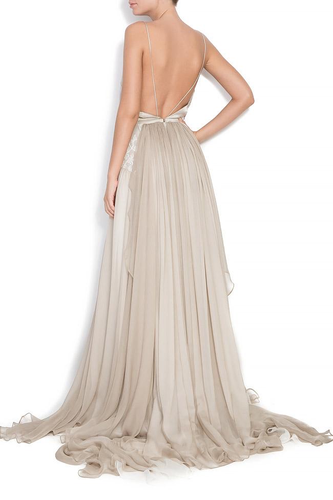 Bella silk gown Manuri image 2