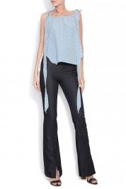 Izabela Mandoiu Mid-rise flared jeans