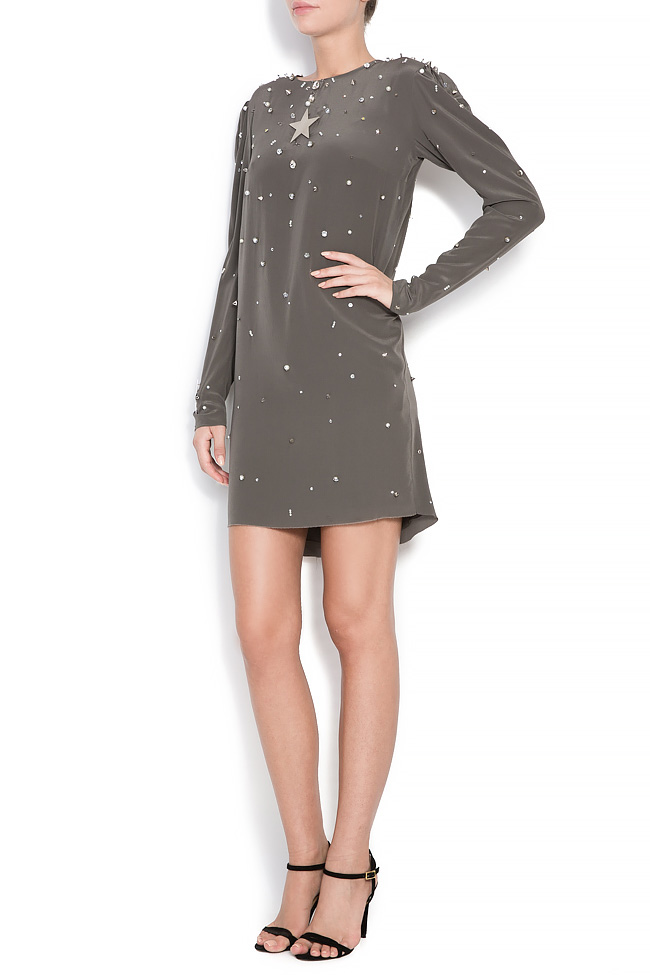 Star Beat silk dress Manuri image 1
