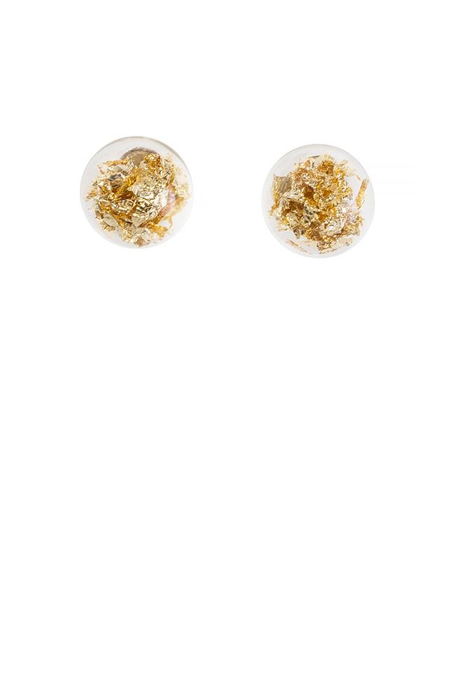 Stardust Pins silver earrings OMRA image 0