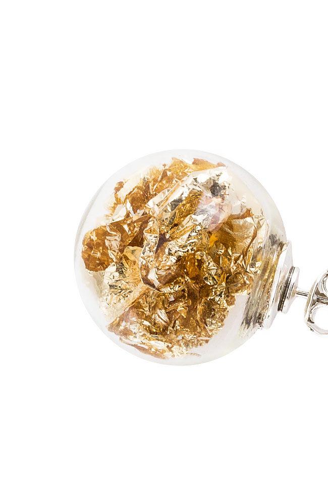 Stardust Pins silver earrings OMRA image 2