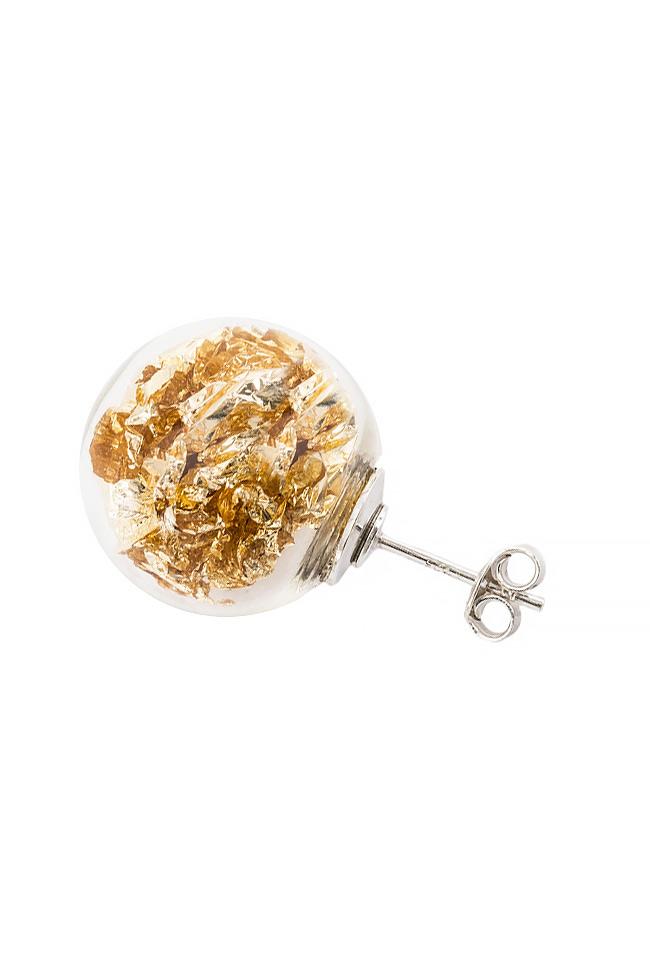 Stardust Pins silver earrings OMRA image 1