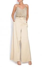 Dorin Negrau Twill wide-leg pants