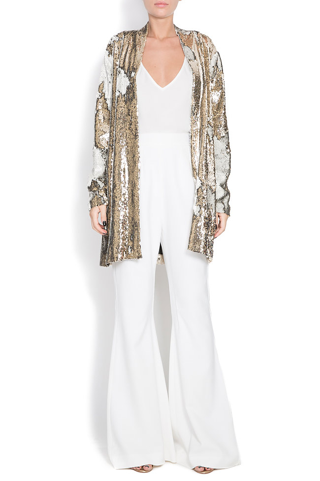 Golden and silver sequined jacket Shakara image 0