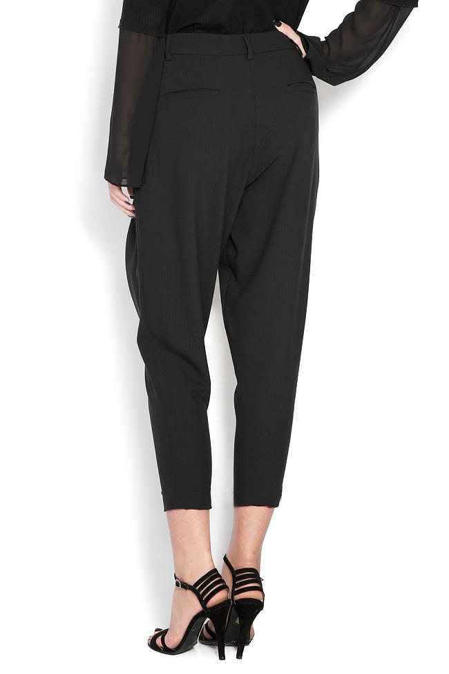 Pantaloni din crep Lova Shakara imagine 2