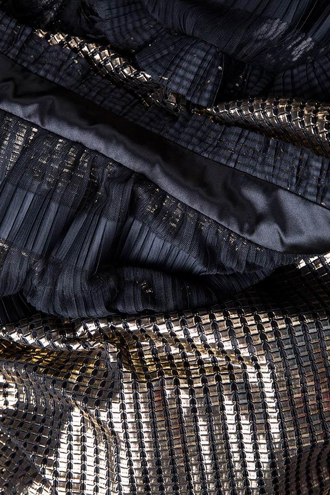 Amour silk-blend lamé maxi dress Amour Elena Perseil image 3