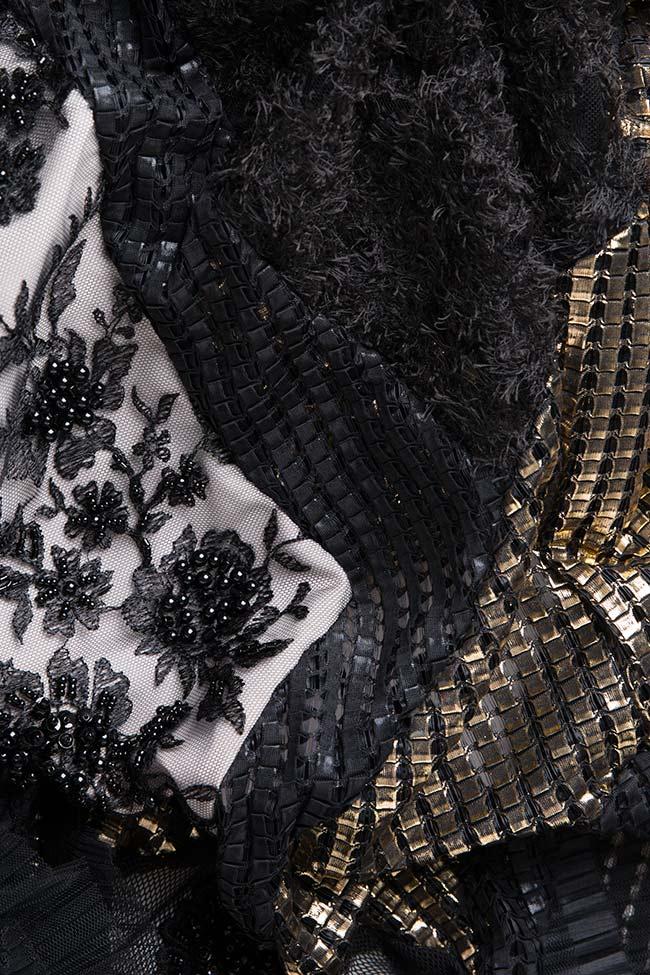 Karla mesh-paneled maxi dress Elena Perseil image 3